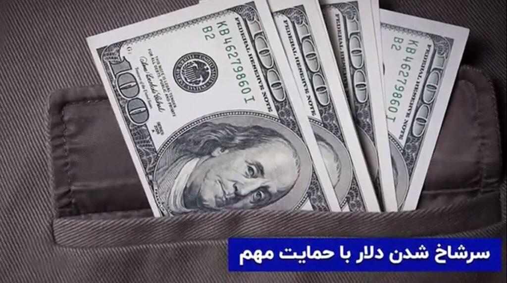 سرشاخ شدن دلار با حمایت مهم